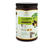 AQUASOLAR PROTEINA VEGETAL GREEN PROTEIN 600GR CACAO POWER